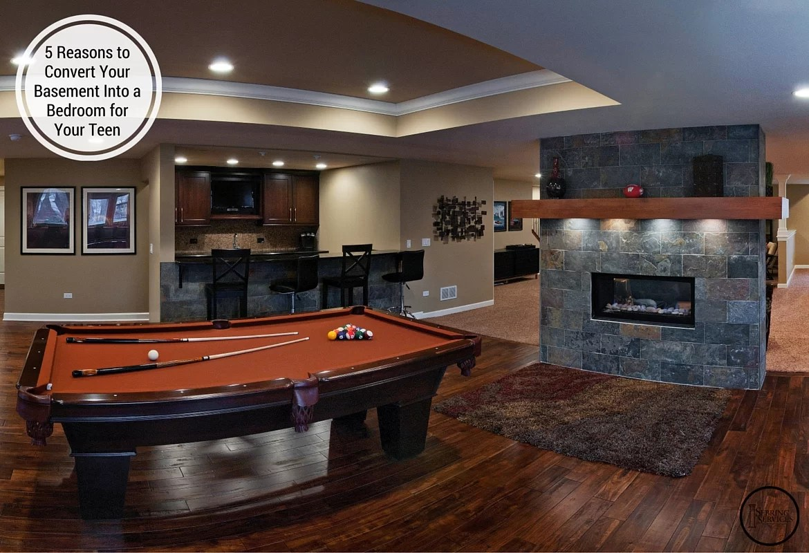 5 Reasons to Convert Your Basement Into a Bedroom for Your ... on Teenager Basement Bedroom  id=72531