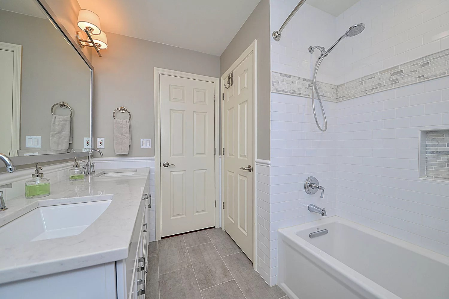 Carl & Susan's Hall Bathroom Remodel Pictures | Home ... on Bathroom Renovation Ideas  id=60984