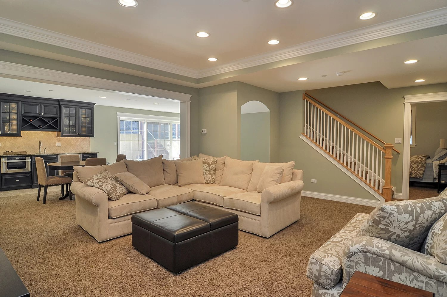 Dave Amp Tara S Basement Remodel Pictures Home Remodeling