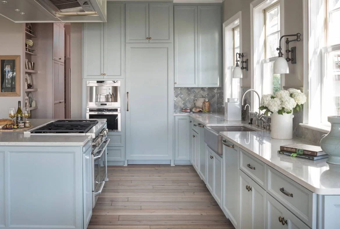 Best Kitchen Gallery: Design Trend Blue Kitchen Cabi S 30 Ideas To Get You Started of Navy Kitchen Cabinets on rachelxblog.com