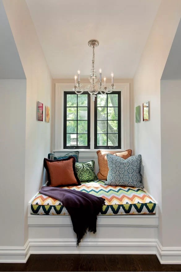 41 Cozy Nook Ideas You'll Want in Your Home | Home ... on Nook's Cranny Design Ideas  id=98622