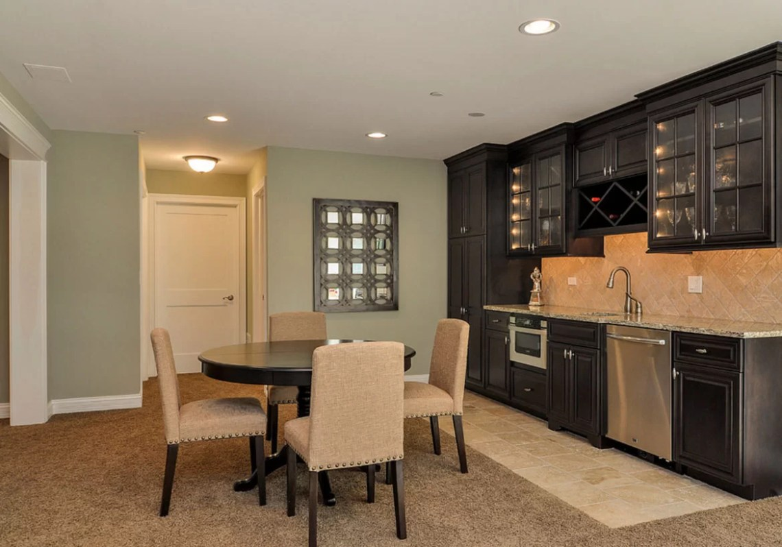 45 Basement Kitchenette Ideas To Help You Entertain In Style Luxury Home Remodeling Sebring Design Build