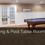 Gaming And Pool Table Room Sizes Home Remodeling Contractors Sebring Design Build
