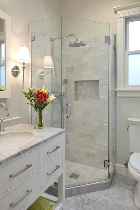 Exciting Walk-in Shower Ideas for Your Next Bathroom ... on Bathroom Renovation Ideas  id=44666