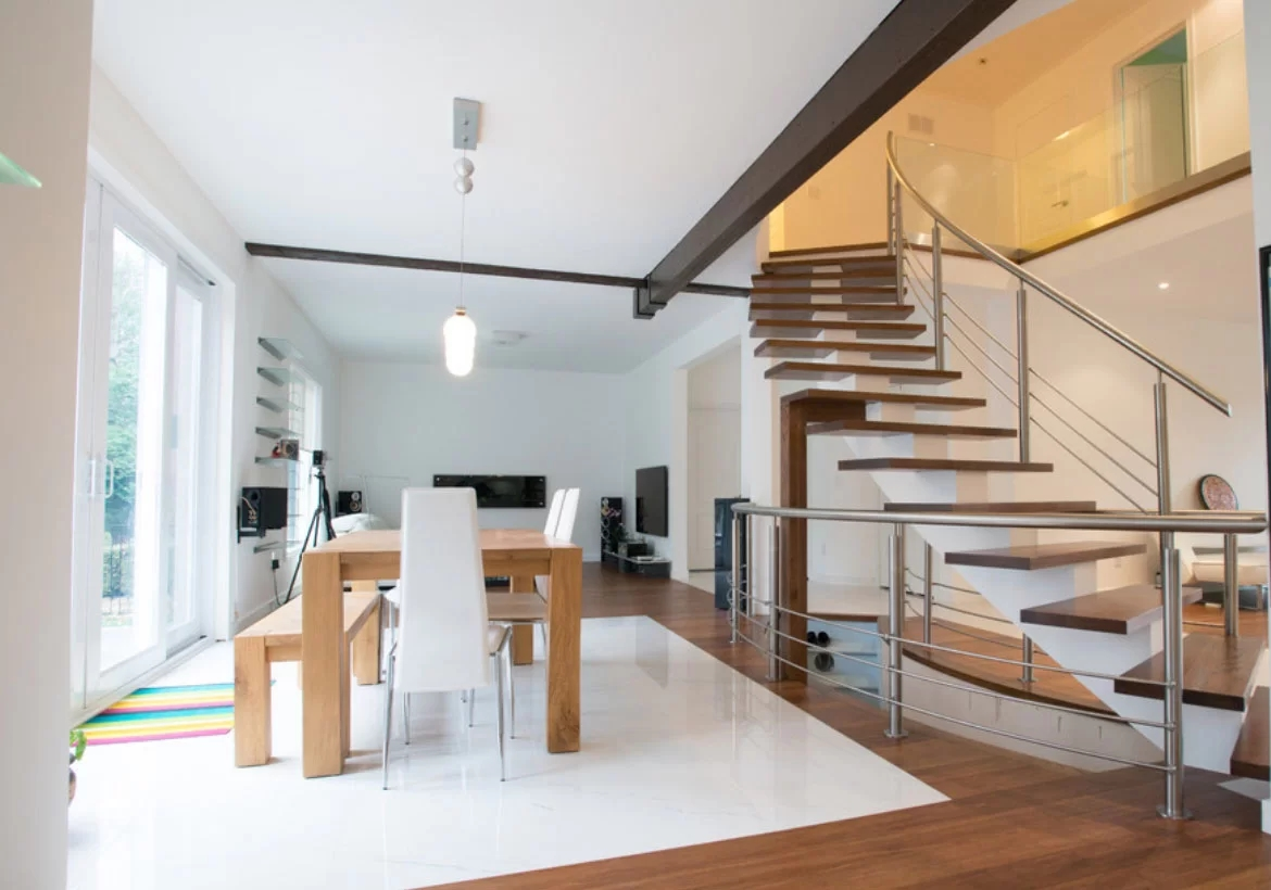 95 Ingenious Stairway Design Ideas For Your Staircase Remodel | Home Front Stairs Design | Outside Stair | Double Floor | Building | Balcony | Beautiful