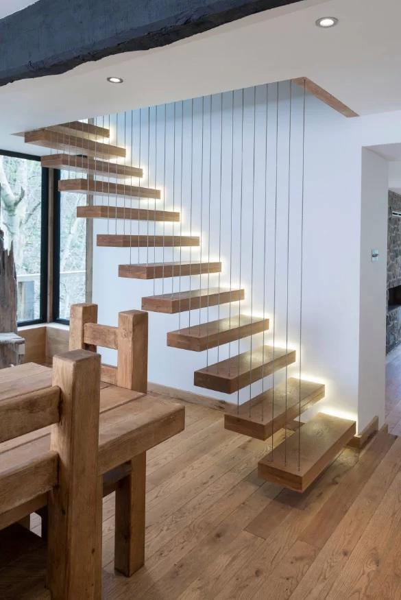 95 Ingenious Stairway Design Ideas For Your Staircase Remodel   Design Your Own Staircase   Metal   Stairway   Painted   Handrail   Grand Entrance