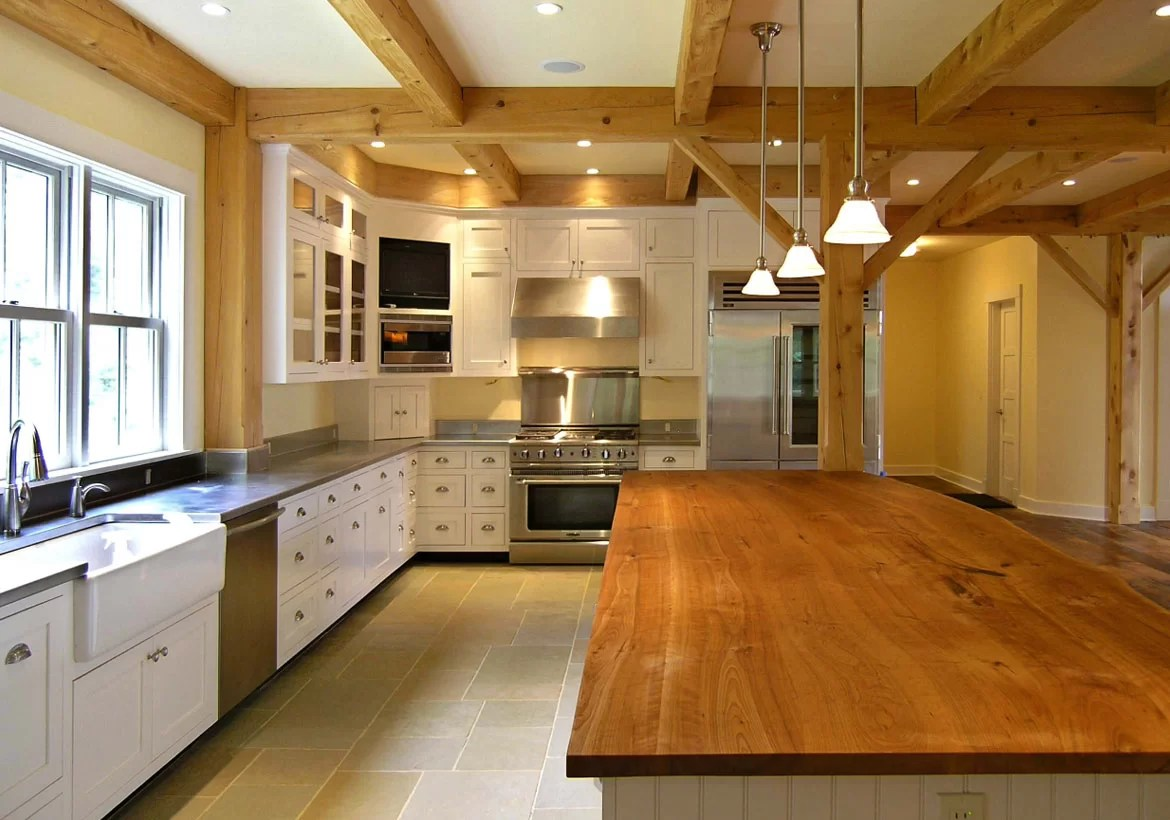 Unique Reclaimed & Live Edge Wood Countertops | Home ... on Farmhouse Counter Tops  id=25000