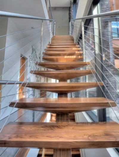 95 Ingenious Stairway Design Ideas For Your Staircase Remodel | Staircase Design Near Me | Stair Treads | Spiral Staircase | Interior Design | Living Room | Stairbox