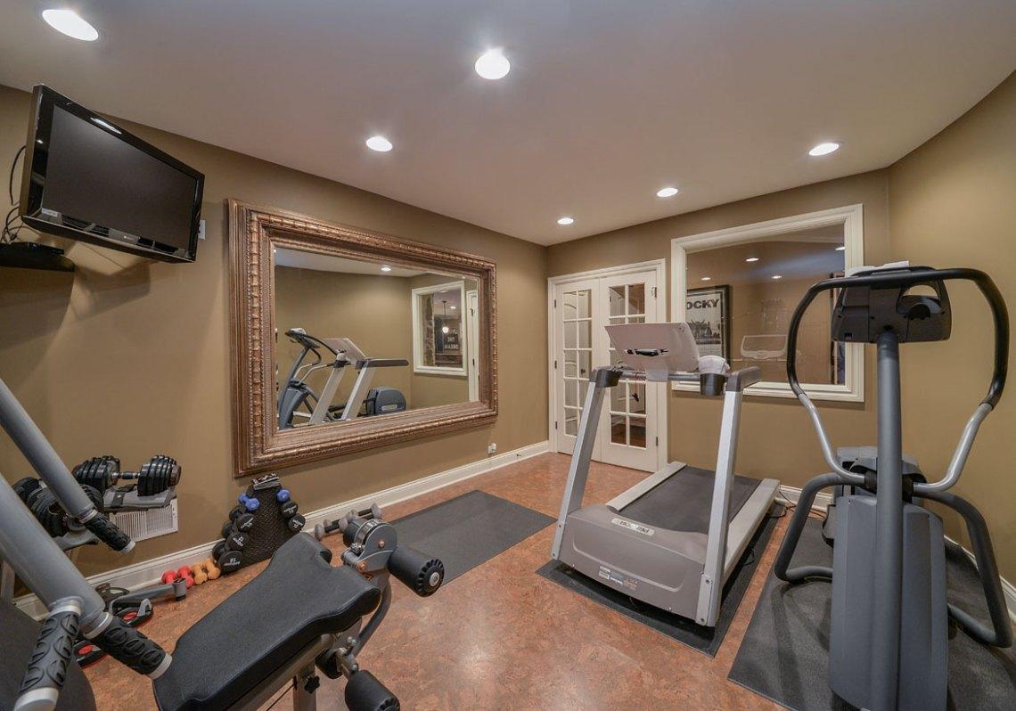47 Extraordinary Basement Home Gym Design Ideas | Home ...