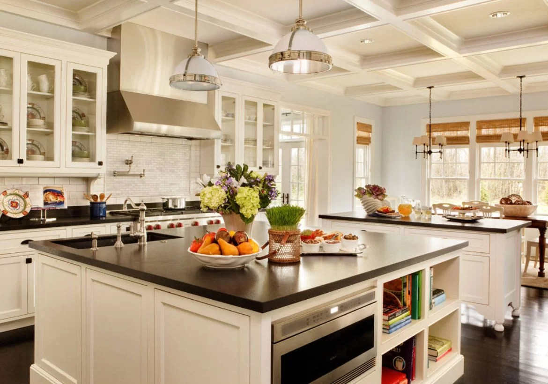 67 Desirable Kitchen Island Decor Ideas & Color Schemes ... on Kitchen Countertop Decor  id=55013