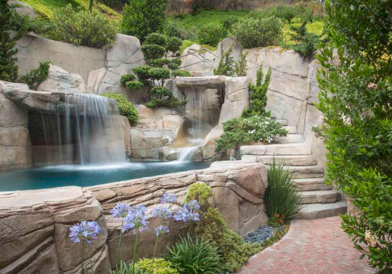 63 Invigorating Backyard Pool Ideas & Pool Landscapes ... on Backyard Pool And Landscaping Ideas id=61019