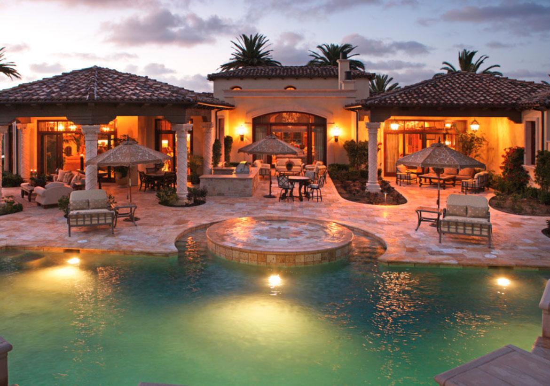 63 Invigorating Backyard Pool Ideas & Pool Landscapes ... on Backyard Pool And Landscaping Ideas id=84588