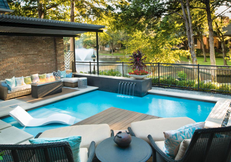 63 Invigorating Backyard Pool Ideas & Pool Landscapes ... on Backyard Pool And Landscaping Ideas id=54664