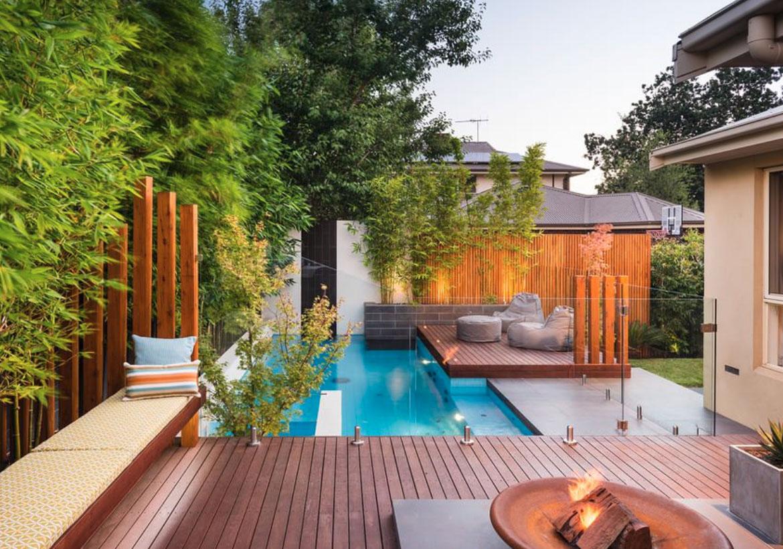 63 Invigorating Backyard Pool Ideas & Pool Landscapes ... on Backyard Renovation Companies id=84825