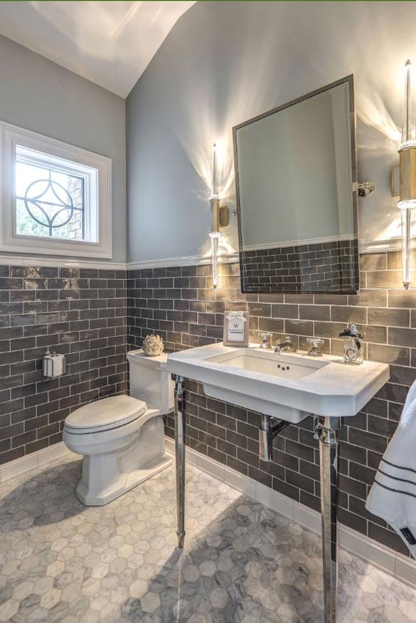 59 Phenomenal Powder Room Ideas & Half Bath Designs   Home ... on Small:tyud1Zhh6Eq= Bathroom Remodel Ideas  id=32686