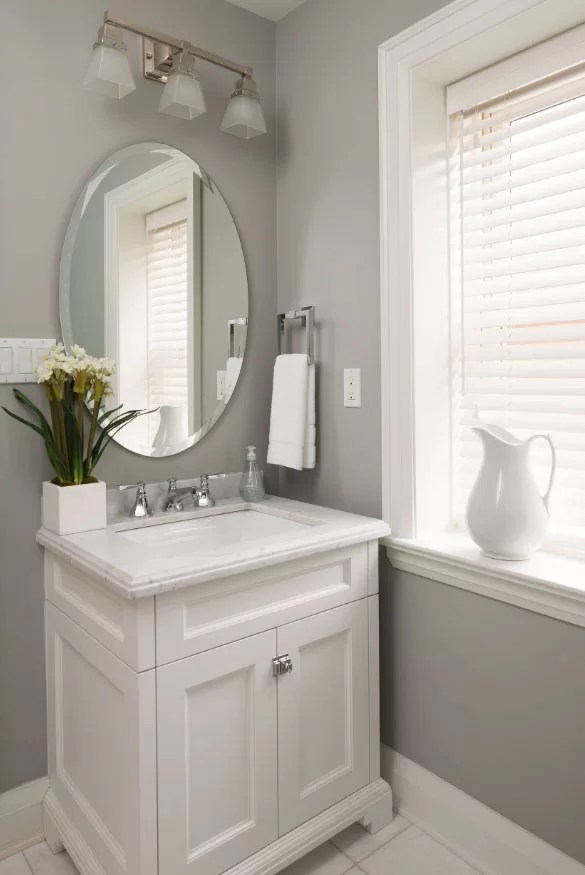 59 Phenomenal Powder Room Ideas & Half Bath Designs | Home ... on Bathroom Ideas Apartment  id=84722