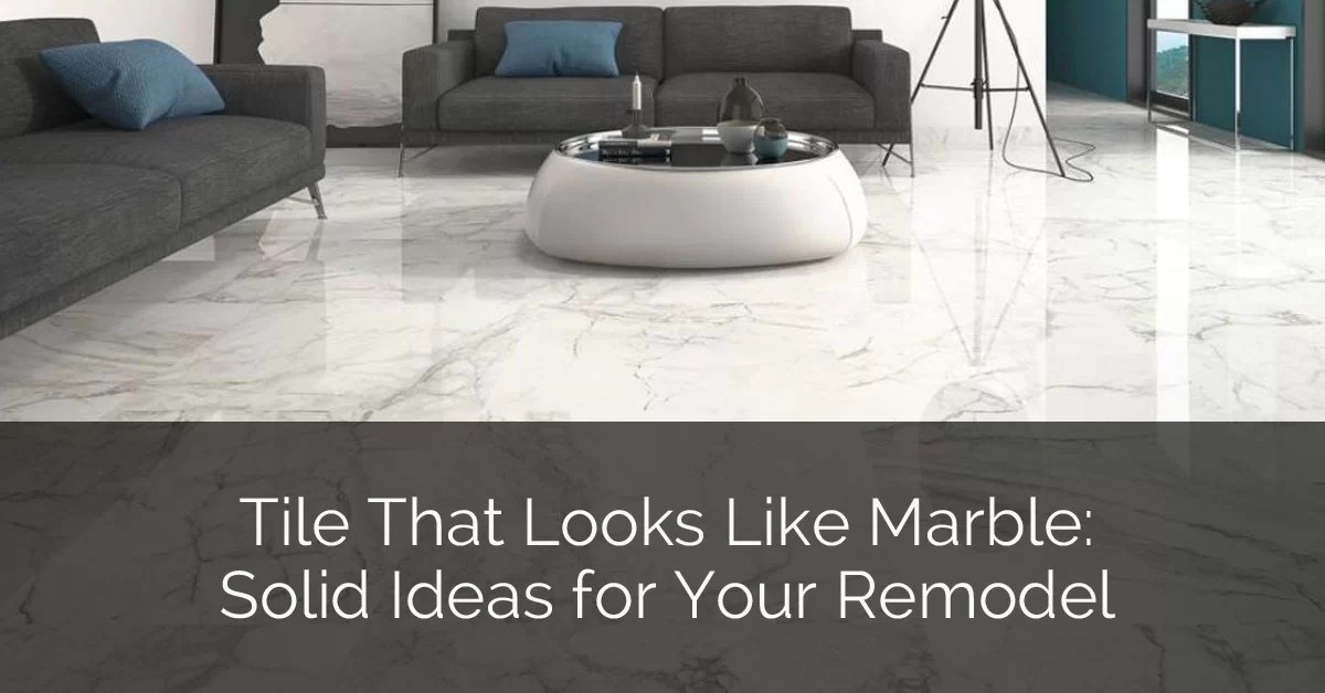 tile that looks like marble solid