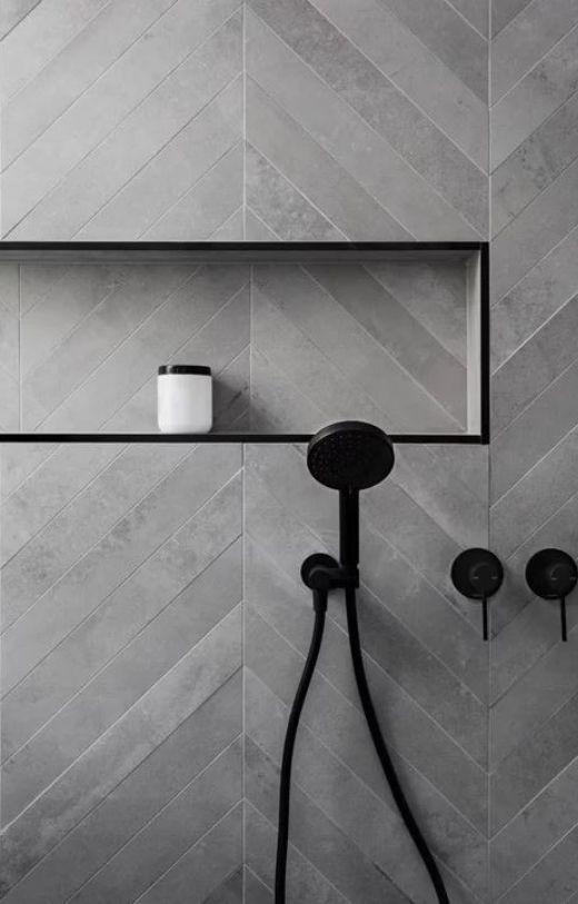 herringbone vs chevron tile patterns