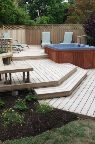 53 Awesome Backyard Deck Ideas Sebring Design Build