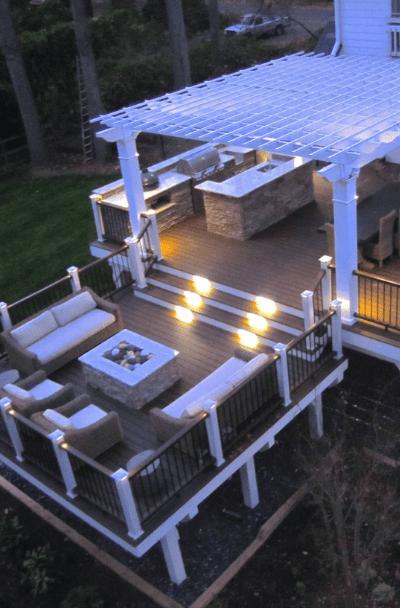 53 Awesome Backyard Deck Ideas | Sebring Design Build on Outdoor Deck Patio Ideas id=63753