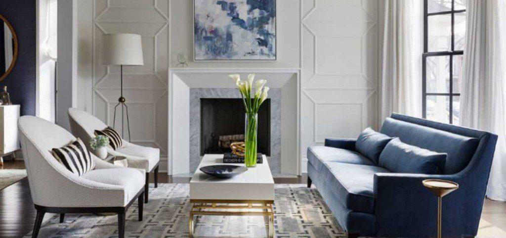 17 Blue Living Room Decor Ideas | Sebring Design Build on Living Room Design Ideas  id=79892