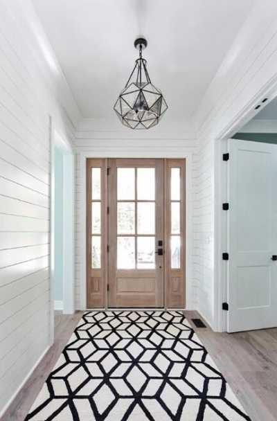 modern farmhouse entry mud room ideas