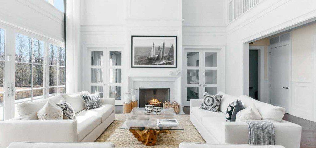 17 white living room decor ideas