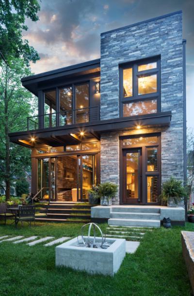 31 Modern & Contemporary Exterior House Design Ideas on Modern House Ideas  id=94627