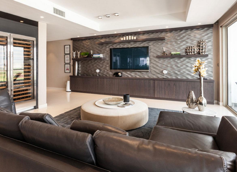 Wall Mounted Tv Wall Design Ideas Novocom Top
