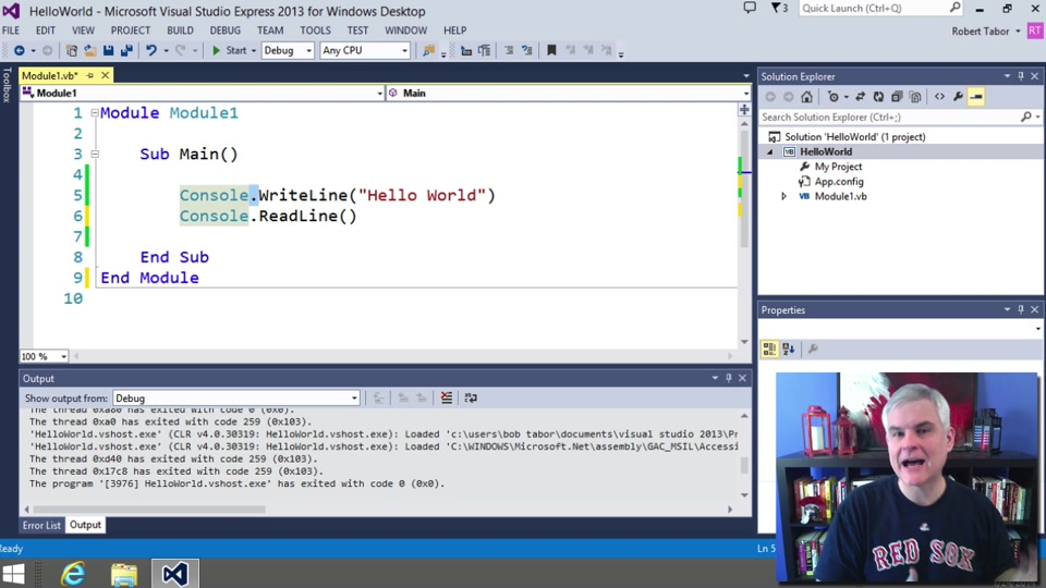 Visual Basic Fundamentals For Absolute Beginners 04