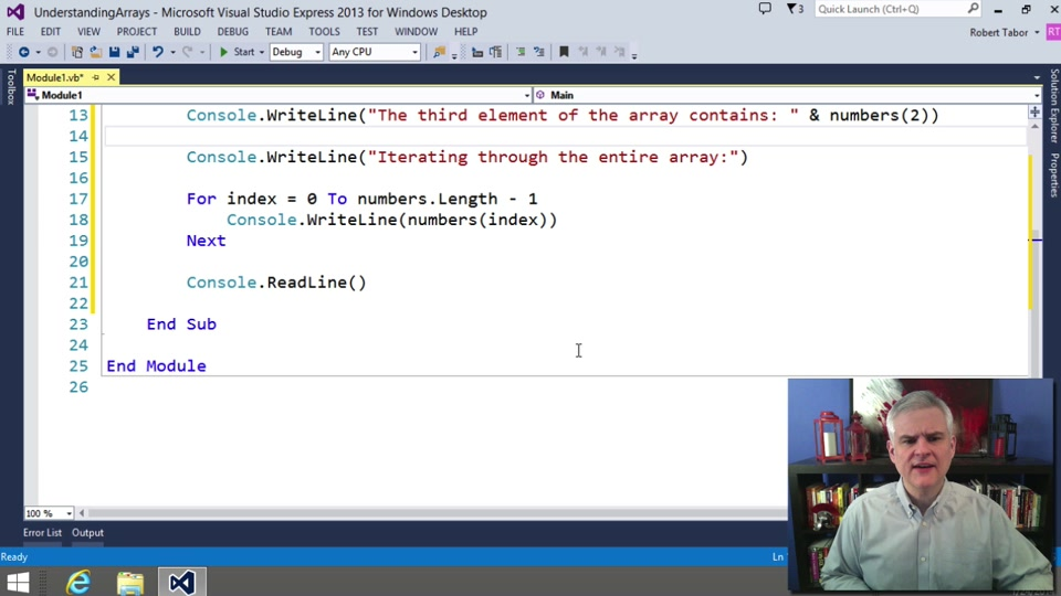 Visual Basic Fundamentals For Absolute Beginners 10