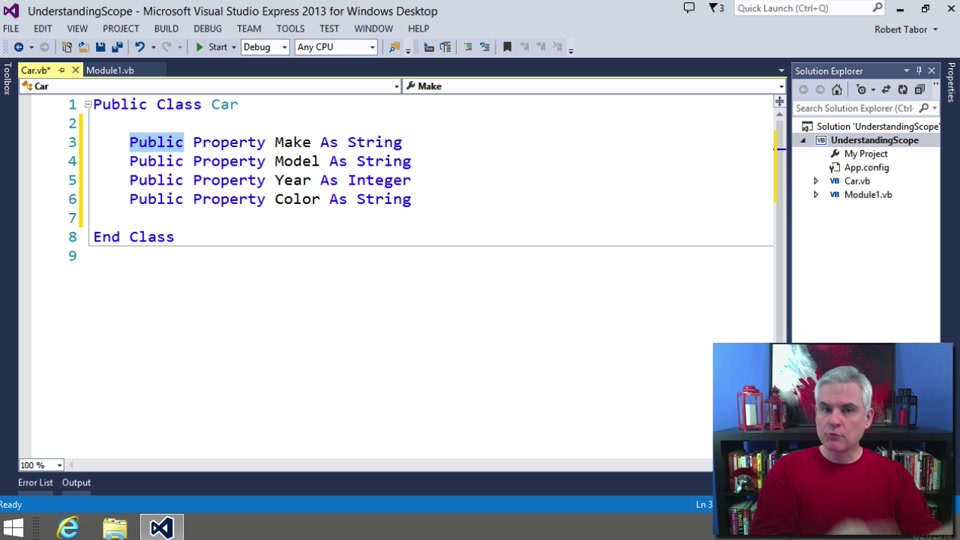 Visual Basic Fundamentals For Absolute Beginners 19