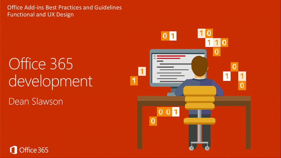 Office Add Ins Best Practices And Guidelines Functional And Ux Design Office 365 Development