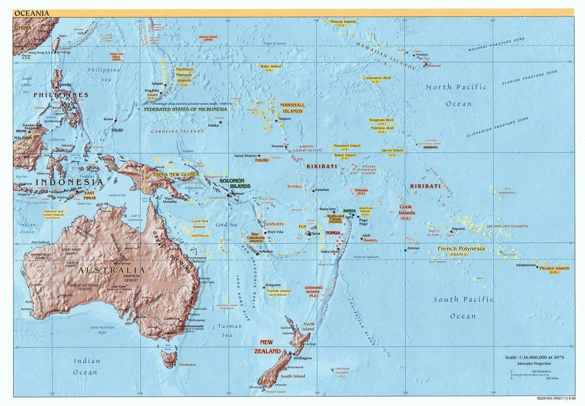 Unit 2 Maps And Capitals
