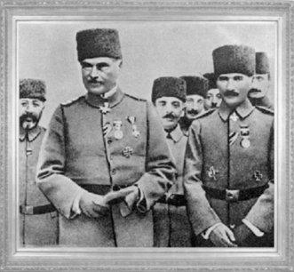 Mustafa Kemal'in Liman von Sanders'in yerine Yıldırım Orduları Grup Komutanlığı'na atandığı gün (31 Ekim 1918)