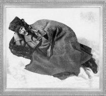 Mustafa Kemal, Dikmen sırtlarında dinlenirken (1921)