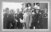 Mustafa Kemal, Haydarpaşa Garı'nda (1929)