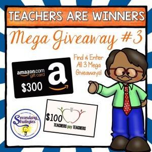 MEGA Gift Card Giveaway!