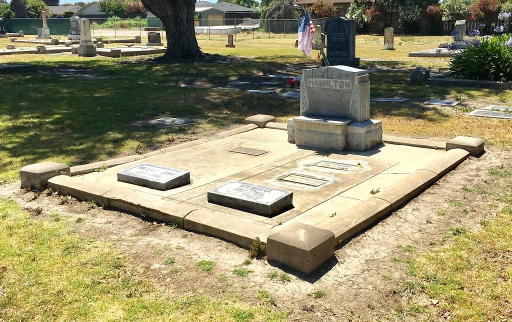 Steinbeck gravesite Salinas