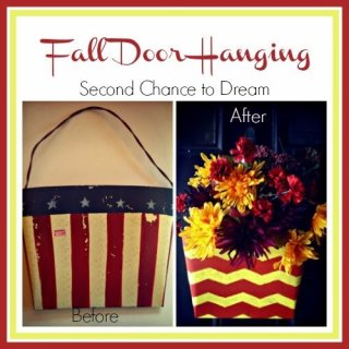 http://secondchancetodream.com/2013/10/upcycled-fall-door-hanging.html