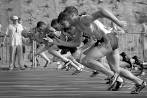 Stay Committed to Your Course -- Run Your Own Race