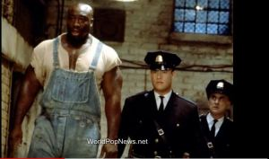 "John Coffey (Michael Clarke Duncan) in ""The Green Mile"" movie"