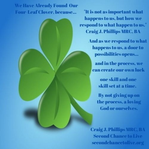 We Have Already Found Our Four-Leaf Clover, because Poster (click on poster to enlarge)