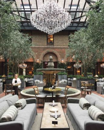 3 Arts Cafe inside Restoration Hardware