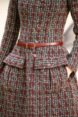 Chanel Tweed detail