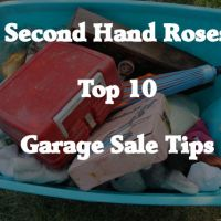 The Roses' Top 10 Garage Sale Tips