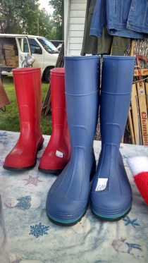 Quality rain boots in classic colors