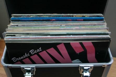 vinyl carrying box
