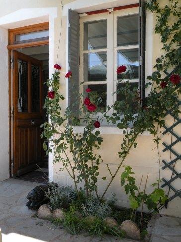 Window and main doorway
