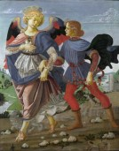 Workshop_of_Andrea_del_Verrocchio._Tobias_and_the_Angel._33x26cm._1470-75._NG_London